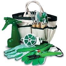 Fiori a righe - Juego de jardinería 18x 15x 11.Idea de regalo elegante, accesorio de jardín, regalo para cualquier evento
