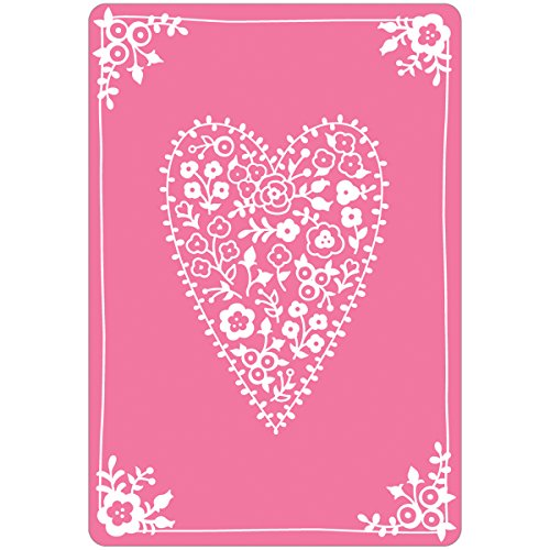 Cheapest Price for Sizzix Textured Impressions Embossing Folder Heartfelt by Jen Long Review