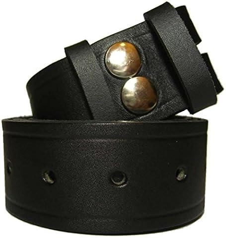 Black Snap Fit Belt - Medium (up to 35
