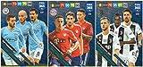 PANINI ADRENALYN XL FIFA 365 2019 Komplettes Set von DREI (3) Mittelfeldmotorkarten – Juventus, Man City, Bayern-Munich