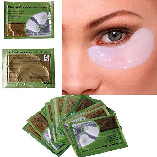 ZACY 10 Pair/lot Collagen Crystal Eye Masks Anti-aging, Anti-puffiness, Dark Circle, Eyelid Anti Wrinkle Moisture Eyes Care
