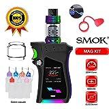 SMOK Mag Kit 225W TFV12 P-Tank Atomizzatore 2ML (Nero Prisma) Sigaretta Elettronica Senza Nicotina + Batterie / Bottiglia (Mag Kit with Bottiglia)
