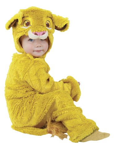 Rubie's 3884660 - Kostüm für Kinder - Furry Simba 2 piece, L