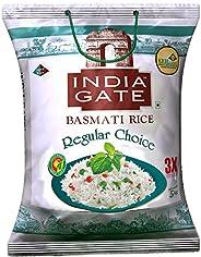 India Gate Basmati Rice Regular Choice, 5 Kg
