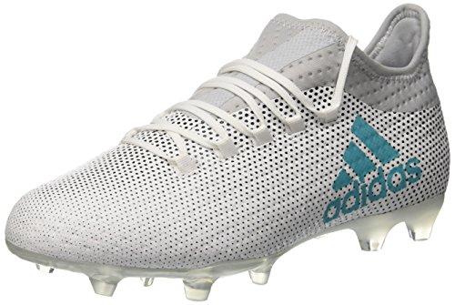 Adidas X 72 Fg, Scarpe per Allenamento Calcio Uomo, (Ftwr White/Energy Blue/Clear Grey), 42 2/3 EU