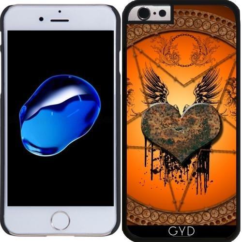 Coque pour Iphone 6 Plus (5,5'') - Merveilleux Coeur by nicky2342 Plastique Rigide