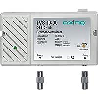 Axing TVS 10-00 Amplificatore Banda Larga per digitale terrestre tv e radio (22 dB, 47-862 MHz) - Trova i prezzi più bassi su tvhomecinemaprezzi.eu