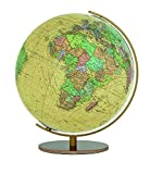 Der Columbus ROYAL Leuchtglobus T223451 mit einem Kugeldurchmesser von 34 cm, handkaschiertem Kartenbild sowie Acrylglaskugel zeigt unbeleuchtet das politische Kartenbild mit klarer farblicher Abgrenzung der einzelnen Länder im nostalgischen Stil. Be...