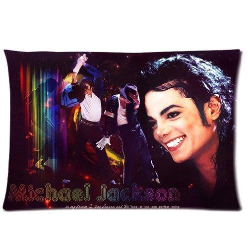 Chihuahua Michael Jackson 20x 30Zwei Seiten Custom Baumwolle & Polyester Kissen Schutzhülle Kissenbezug Modell: chh-0073? Build-to-Order?