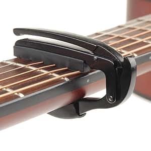 profi kapodaster capo capodaster kapo f r fast alle gitarre gitarren musikinstrumente. Black Bedroom Furniture Sets. Home Design Ideas