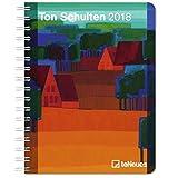 Ton Schulten 2018 - Kunstkalender, Buchkalender - 16,5 x 21,6 cm