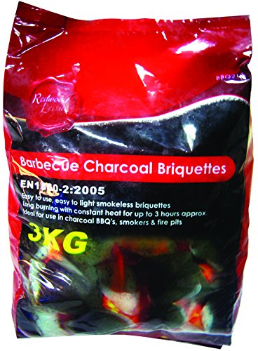 REDWOOD BB-BBQ210 BBQ Charcoal Briquettes
