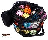 Floorball - TRIX Team-Set 50 Bälle Color mit Tasche