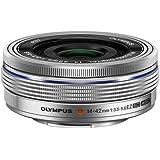Olympus M.ZUIKO DIGITAL ED 14-42mm 1:3.5-5.6 EZ Lens - Silver