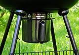 Großer Kugelgrill Holzkohlegrill, hochwertige Ausführung, massive 12 kg schwer, 53cm Grillfläche für BBQ Grill Barbecue Grillwagen -