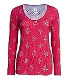 PiP Studio Damen Pyjama-Oberteil Trixy Winter Wonderland Langarm pink (71) M