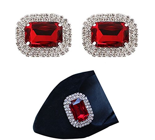 2 elegant pieces of imitation crystals for shoes, shoe decoration, beads, shoes, buckle, dress, hat, shoes, clips for wedding party