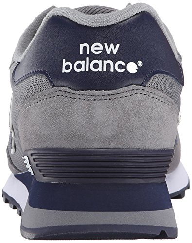 New Balance Mens Classics Traditionnels Suede Trainers Grau Navy