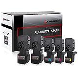 5 Logic-Seek Toner kompatibel zu Kyocera TK-5220 für Kyocera Ecosys M-5521cdn M-5521cdw P-5021cdn P-5021cdw