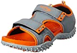 Footfun (from Liberty) Unisex Dark Grey Fashion Sandals - 3 UK/India (36 EU)