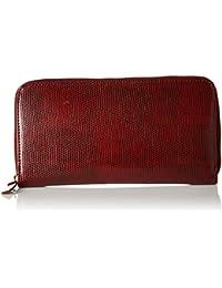 Carlton London Women's Wallet (Burgundy)