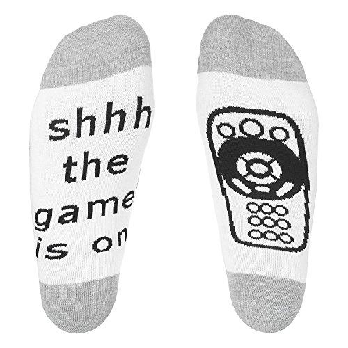 Frauen Socken Spaß (Aidonger Spass Socken Für Unisex Erwachsene und Kinder(Grau))