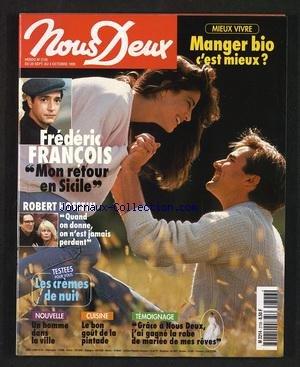 NOUS DEUX [No 2726] du 28/09/1999