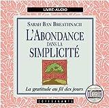 Telecharger Livres L Abondance Dans LA Simplicitee (PDF,EPUB,MOBI) gratuits en Francaise