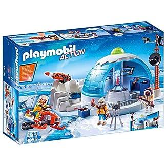 PLAYMOBIL Action Cuartel Polar de Exploradores