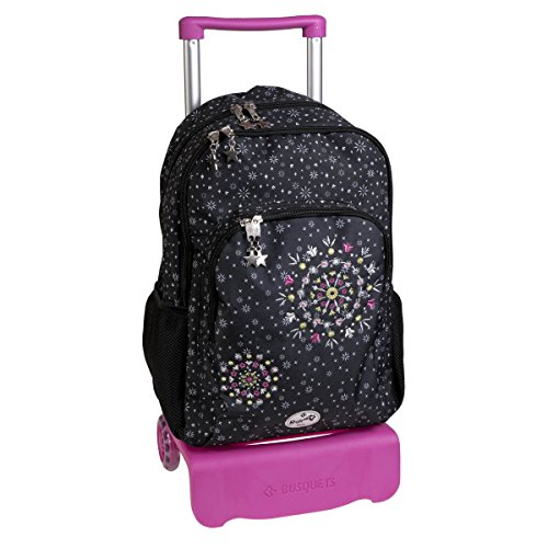 mochila doble carro SPARKLY by BUSQUETS