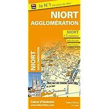 Plan de Niort et de son agglomération