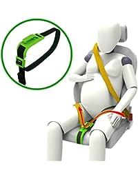 ZUWIT Ceinture Antichoc, Ceinture de sécurité pour des sièges maternité, confort et sécurité pour les femmes enceintes, Protection pour le bébé à venir, Un accessoire indispensable pour les futures mamans