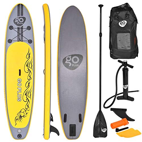 COSTWAY SUP-Board Paddelboard Surfboard Paddelbrett Stand Up Board Set 335 * 76 * 15cm aufblasbar