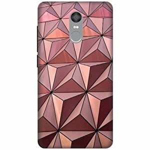 Printland Designer Back Cover For Xiaomi Redmi Note 4 - 3D Effect Cases Cover