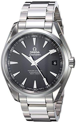 Omega Seamaster Aqua Terra 150M / orologio uomo / quadrante nero teak / cassa e bracciale acciaio