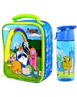 Adventure Time Insulated Lunch Bag/Box and Tritan Hydration Bottle (500ml) | Finn and Jake