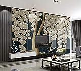 Fonds d'écran 3D Papier Peint Forêt Mur de fond TV arbre de luxe riche lumière minimaliste atmosphère riche atmosphère doré Fond d'écran photo fond d'écran plage fond d'écran cascade