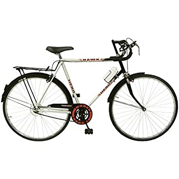 Hero Hawk Nuage 27T Single Speed Cycle (Silver/Black)