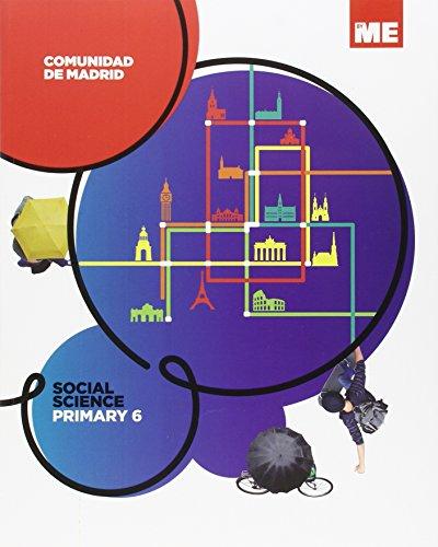 Comunidad de Madrid Social Science Primary 6 - 9788416483495 por Aa.Vv.