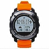 Touch Screen Smart Watch für Surfen,Kajak,Rafting,Segeln,Wandern,Camping,Angeln und Sport Adventurer Digital Smart Watch,Fitness Tracker Uhr,Aktivität Tracker,Schrittzähler Verfolgung Kalorien Gesundheit