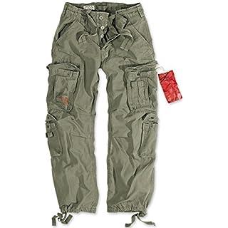 Surplus Mens Airborne Vintage pants olive, M