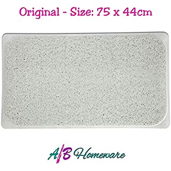 Non Slip Hydro Rug Shower Bath Tub Mat Clean Carpet Mildew Stain Resistant
