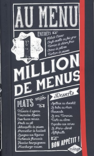Au menu : 1 million de menus