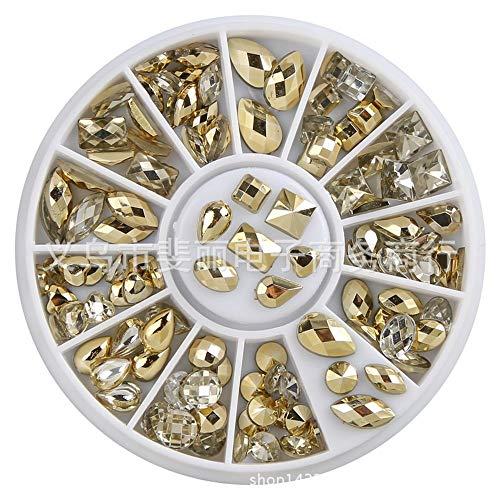 Piezas Diamantes,Manicura De Uñas Acrílico Taladro