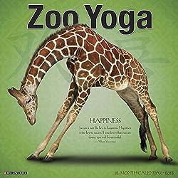Zoo Yoga 2018 Calendar