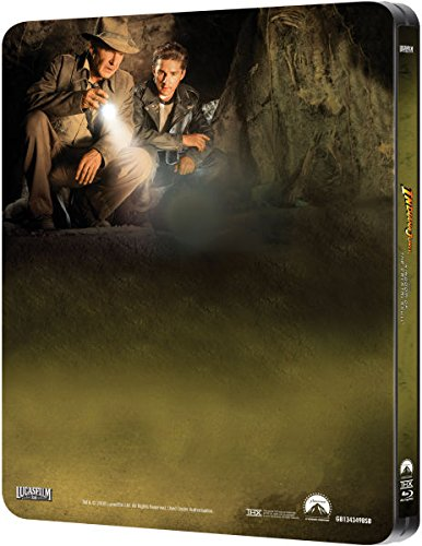 Indiana Jones and the Kingdom of the Crystal Skull – Exklusive Limited Steelbook Edition (inkl. Deutscher Ton / auf 4000 Stk. geprägt) (Das Königreich des Kristallschädels) [Blu-ray] - 3
