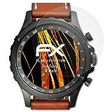 atFoliX Schutzfolie für Fossil Q Nate Displayschutzfolie - 3 x FX-Antireflex blendfreie Folie