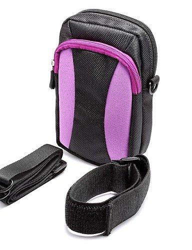 ZQ Outdoor Aktivitäten 14cm Diagonal Universal Serial Farbe Arm Band Aufhängen Tasche Taille Bergsteigen (verschiedene Farben) - Armeegrün