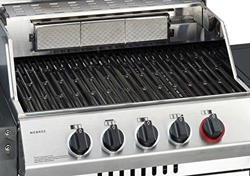 Enders Gasgrill Kansas Pro 3 Sik Turbo Test : Enders bbq gasgrill monroe sik turbo gas grill steak