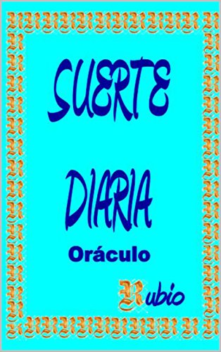 SUERTE DIARIA: ORÁCULO